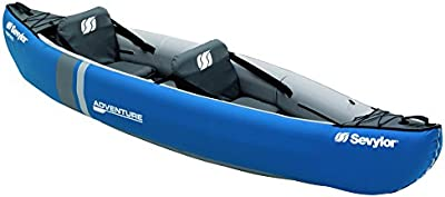 Sevylor Canoa Adventure (2 P) - Canoa Adventure (2 P), color azul, talla No