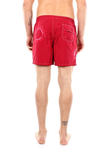 30802073V0031 Fred Perry Homme Coton Rouge Rouge
