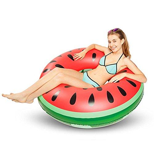 Schwimmreifen Wassermelone Aufblasbares Schwimmring 120cm Pusheng