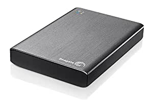 Seagate Wireless Plus 1TB Portable Mobile Device Storage with built-in WiFi