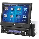 Trevi MDV 6350 BT Sistema Stereo da Auto con Display da 7 pollici, Apertura Motorizzata, Controlli Touch, USB, SD, Aux-In, Radio FM PLL, Bluetooth