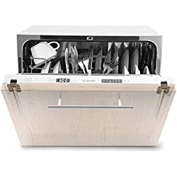 Klarstein Amazonia 6 Secret Lave-vaisselle encastrable 6 programmes A+ - blanc