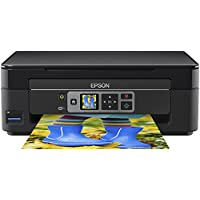 Epson Expression Home XP-352 Small-in-one Printer with LCD Screen, Black
