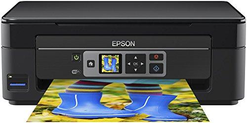 Preisvergleich Produktbild Epson Expression Home XP-352 3-in-1 Tintenstrahl-Multifunktionsgerät Drucker (Drucken,  scannen,  kopieren,  WiFi,  3, 7 cm Display,  Einzelpatronen,  4 Farben,  DIN A4) schwarz