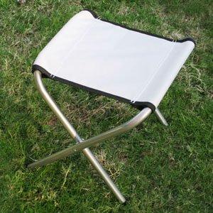 SPEED Klappbarer Hocker Sitzhocker Klapphocker Faltbar Klappstuhl für Camping Garten Terrasse Balkon (Maße: 33×30×37cm, 2 weiß Hocker) von SPEED auf Gartenmöbel von Du und Dein Garten