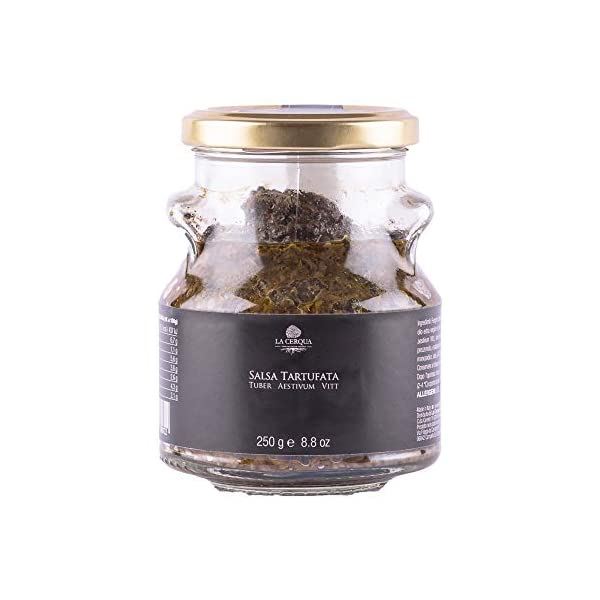 Salsa tarfufata Tuber Aestivum- 250 gr - La Cerqua