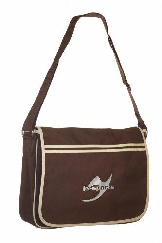 Retro Messenger Bag chocolate/sand Ju-Sports