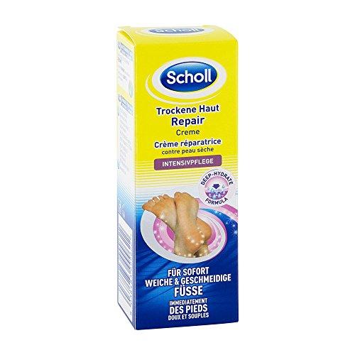 Scholl Crema de reparación de la piel seca, 3-pack (3 x 60 ml)