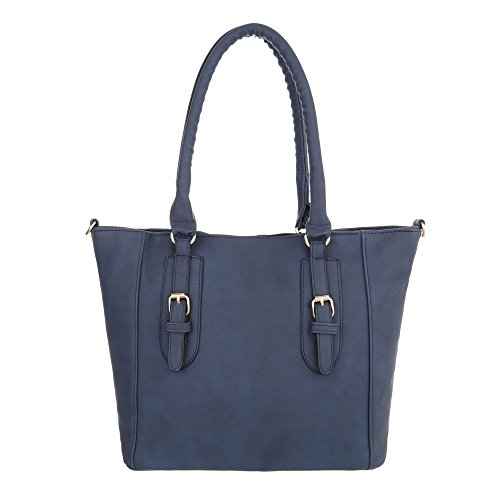 Taschen Handtasche In Used Optik Dunkelblau