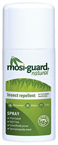 Mosi-Guard Natürliches Insektenabwehr-Spray im Pumpspender, 75 ml DEET-frei. Geeignet für Erwachsene und Kinder. -