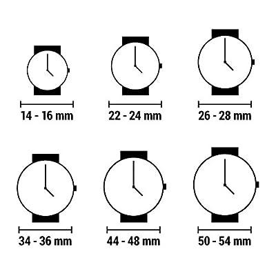 Guess Reloj Análogo clásico para Mujer de Cuarzo con Correa en Acero Inoxidable W0463L2 de Guess