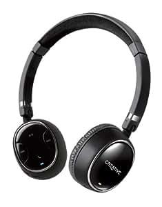 Creative WP 350 - Casque sans fil Bluetooth avec Micro invisible