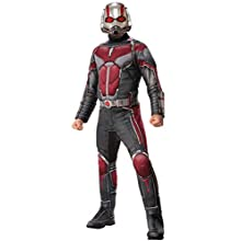 Rubie's Official Marvel Ant-Man and The Wasp, Ant-Man Adult Costume, Men's X-Large Size Chest 48-50-inch, Waist 42-46-inch