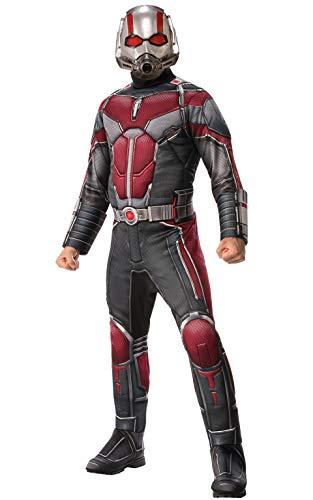Marvel Ant-Man Herrenkostüm für Erwachsene grau-rot ()
