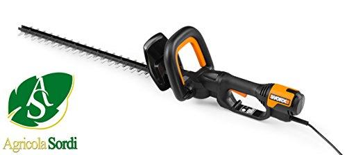 WORX WG212E corta-setos eléctrico Cuchilla doble 500 W 2,4 kg - Fusible de seguridad Corriente alterna...
