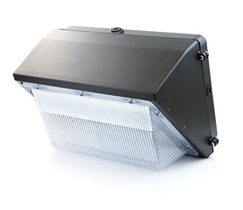 Hof Blauer (Hyperikon - LED-Außenwandleuchte / 45W ersetzt 300W / wetterfest IP65/ Tageslichtweiß (5000K) / LED-Sicherheitslicht für Lagerhaus, Garten, dunkle Vorplätze, Parks & Anlagen sowie Parkplätze)