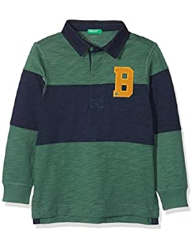 United Colors of Benetton L/S Shirt, Polo para Niños