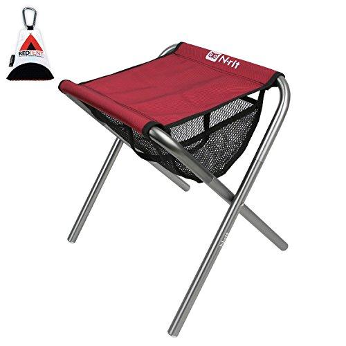 N-RIT Nano Klappstuhl, Leichter Camping-Stuhl, kompakte…   00729389091088
