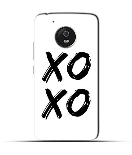 "NH10 DESIGNS 3D PRINTING DESIGNER HARD SHELL POLYCARBONATE ""TIC TAC, KATA ZERO, BLACK AND WHITE, SCHOOL GAME"" PRINTED SHOCK PROOF WATER RESISTANT SLIM BACK COVER MATT FINISH FOR MOTO G5/MOTO G 5/MOTOG5"