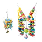 fdit wooden parrot toys colorful wood birds standing chewing climbing swing stairs ball toys gift 2pcs Fdit Wooden Parrot Toys Colorful Wood Birds Standing Chewing Climbing Swing Stairs Ball Toys Gift 2Pcs 41nhiHAsBtL