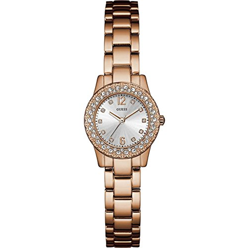 guess-womens-dixie-25mm-rose-gold-tone-steel-bracelet-case-quartz-silver-tone-dial-analog-watch-w088