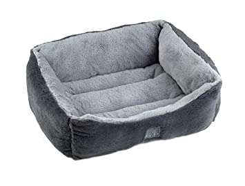 grey dog beds uk