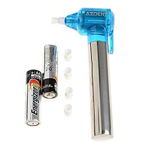 AZDENT®Dental Blue Tooth Whitener et polisseuse avec batterie