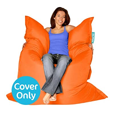 BAZAAR BAG ® - Giant Beanbag - Indoor & Outdoor Bean Bag - MASSIVE 180x140cm - GREAT for Garden - COVER ONLY