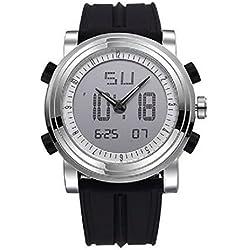 Motus Sports Chronograph Digital Quartz Military Diving Luxury Watch For Men/Women