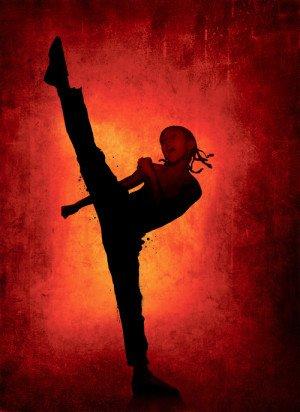 THE KARATE KID - Jaden Smith - US Textless Imported Movie Wall Poster Print - 30CM X 43CM Brand New (Kid Smith Jaden Karate Film)