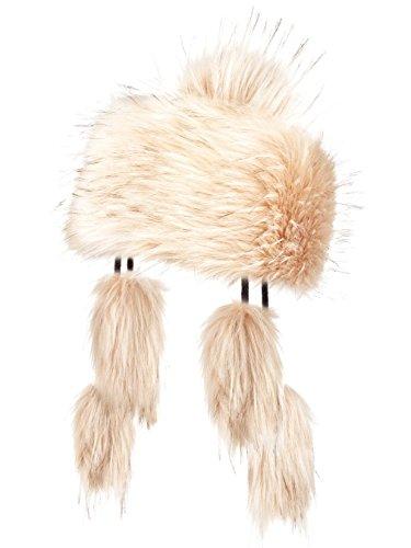 Futrzane Mongolo Cappello Ecopelliccia Pom Pom Donna usato Spedito ovunque  in Italia d5a904da5f87