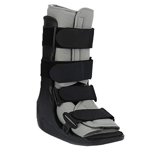 Fractures walker boot distorsioni della caviglia lesioni recupero della protezione fratture del piede,black,l