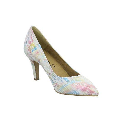 Tamaris 1-1-22414-28 990, Scarpe col tacco donna Weiß (Multicolour)