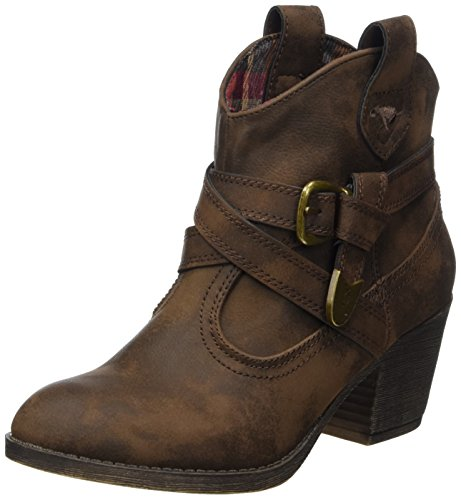 Rocket Dog Damen Satire Biker Boots, Braun, 37 EU