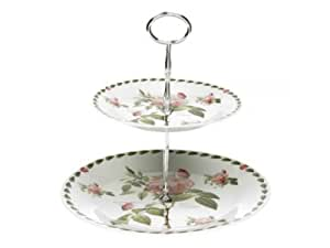 Redoute Rose Fine China Cake Stand