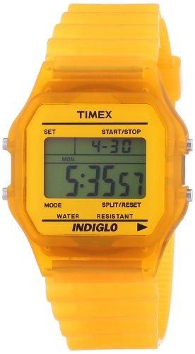 e8f2f2c202fe Timex Trend - Reloj digital de cuarzo unisex con correa de resina