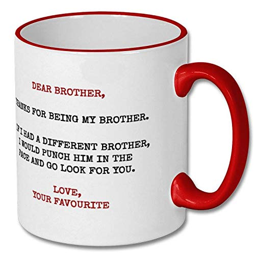 Regalo para hermano o hermano, regalo divertido para hermano, hermano,