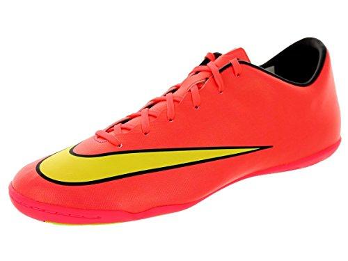 Nike - Mercurial Victory V Ic, Scarpe da calcio Uomo Rosso - hyper punch/metallic gold/black/volt