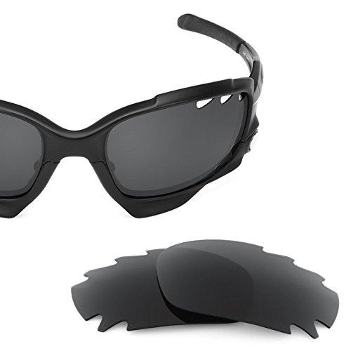 Verres de rechange pour Oakley Jawbone Vented — Plusieurs options Noir - Polarisés