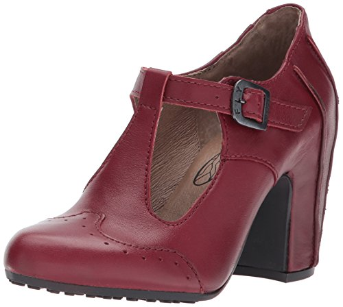 FLY London Damen Acer138fly T-Spangen Pumps, Rot (Cordoba Red), 39 EU