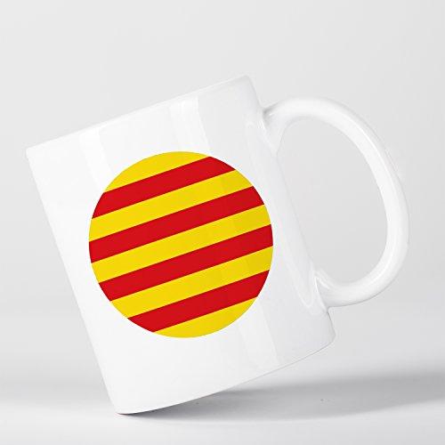Catalunya Catalan Flag Bandera Català Spanish Española Catalán Taza