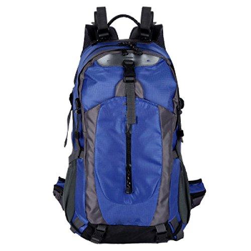 OGERT Grande Capacità All'aperto Alpinismo Viaggio Zaino Pioggia,Blue Blue