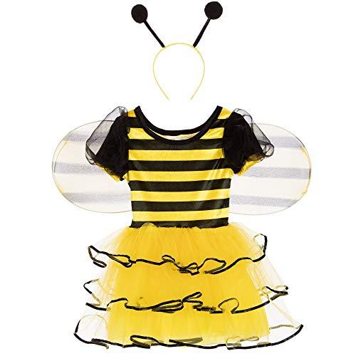 Girl Kostüm Bumble Bee - GIRLS TRAVIS DESIGN BUMBLE BEE COSTUME - TODDLER (18 - 24 MONTHS)