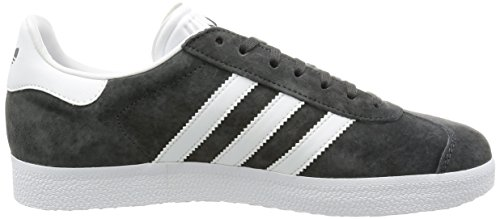 adidas Unisex-Erwachsene Gazelle Low-Top Grau (Dgh Solid Grey/White/Gold Met.)