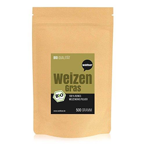 Wohltuer Bio-Weizengraspulver 500g / Bio...