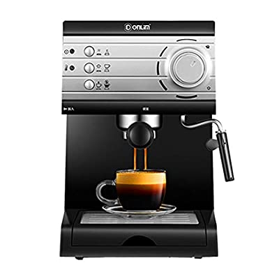 Coffee Machine Home Small Italian Semi-Automatic Steam-Type Milk Foam Consumer and Commercial Coffee Machine by SryWj