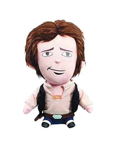 Star Wars SW01887 Han Solo Premium Talking Plush Toy (Medium)