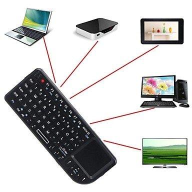 A8Mini Tastatur kabellos 2.4GHz der Maus Touchpad Hintergrundbeleuchtung für PC Smart TV SAMSUNG (Smart Tv Samsung Für Kopfhörer)