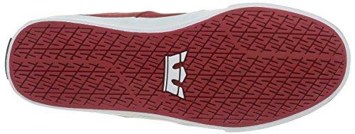 Supra - Stacks Vulc Ii, Sneakers da uomo Rosso (Rot (RED / NAVY - WHITE 649))
