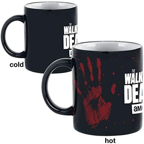 GB eye The Walking Dead, Taza con impresión a Mano Que Cambia de Calor